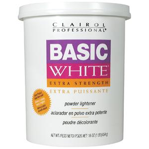 Clairol Professional Basic White Powder Lightener, 16 oz