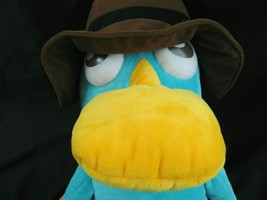 "Disney Store Large Perry the Platypus Plush  20"" Secret Agent Pet Phineas & Ferb image 2"