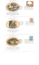 15 Fdc 1975 Clipper Boeing B-1 Liberty Bell Independence Hall Eagle Rights 356 - $31.68