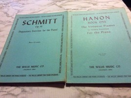 The willis Library for Piano Students Lor of 2 hanon schmitt Exercises f... - $10.44