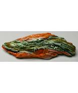 "3 3/4"" Original Luanne Tackett Simpson Green Orange Abstract Ceramic Bro... - $21.37"