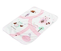 Urine Pad Baby Diaper Pad Mattress Pad Sheet Protector for Baby, Pink Cats