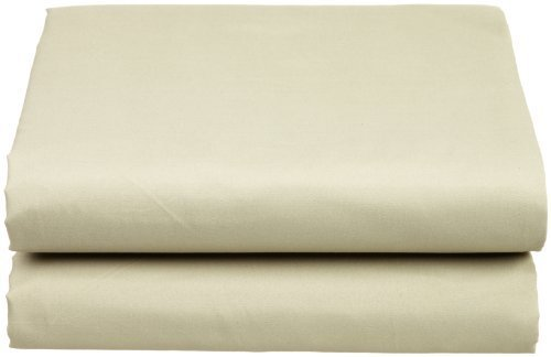 Cathay Luxury Silky Soft Polyester Single Fitted Sheet, Queen Size, Sage