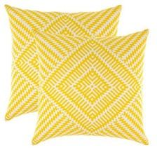 TreeWool, (2 Pack) Throw Pillow Covers Kaleidoscope Accent Decorative Pi... - $15.99