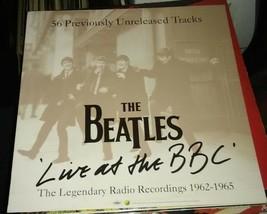Beatles poster & Live At BBC poster LP - $19.99