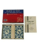 Kan-U-Go 1930s Crossword Card Game in Box for 2-7 Players Made in USA Vi... - $19.99