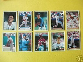 1989 TOPPS All Star Collector's Edition MLB Cards 11-20 Gary Carter - $8.90