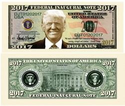 25 Donald Trump President Money Fake Dollar Bills 2017 Fed Inaugural Not... - $9.74