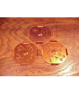 Lot of 3 Mirro Dial-A-Cookie Cookie Pastry Press Design Plates Discs M-0... - $7.95