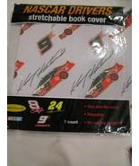 NASCAR KASEY KAHNE #9 REUSABLE STRETCHABLE BOOKCOVER BOOK COVER BRAND NEW - $4.99
