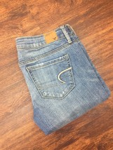 AMERICAN EAGLE Original Straight Classic Rise Blue Denim Jeans Men's Siz... - $508,21 MXN
