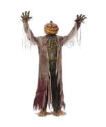 Animated Huge Halloween Prop Spooky Decoration Jack O' Lantern Pumpkin D... - $313.13