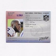 2017 PRESTIGE NFL PASSPORT DRAFT 2017 LEONARD FOURNETTE  MINT #6 *NICE* - $0.99