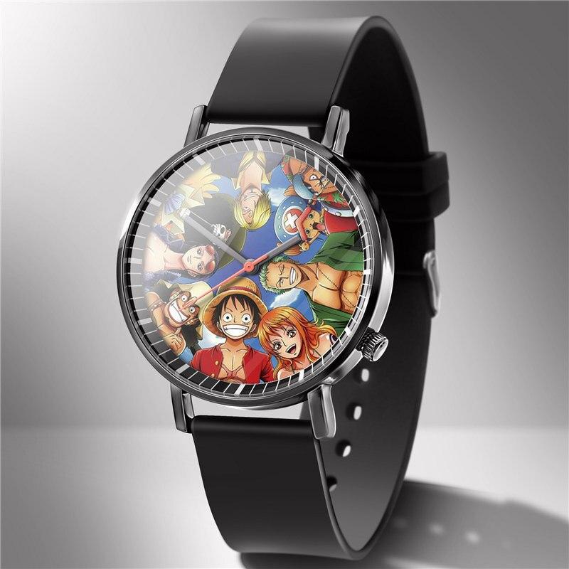 One Piece Anime Straw Hat Pirates Plastic Wrist Watch ...