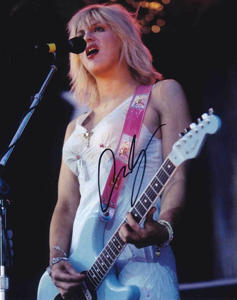 Primary image for Courtney Love In-person AUTHENTIC Autographed Photo COA SHA #38642