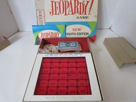 VTG 1964 JEOPARDY GAME 8TH EDITION COMPLETE SEE PICS - $14.95