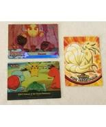 Pokemon Topps Cards Set Lot 38 Ninetales 55 Pikachus Vacation Ep17 Islan... - $14.99