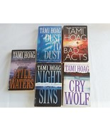 Lot of 5 Tami Hoag Paperback Night Sins Cry Wolf Prior Bad Acts Dust to ... - $12.50