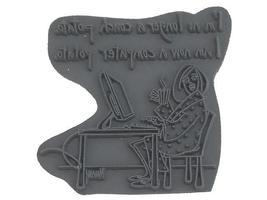 American Art Computer Potato Rubber Stamp #CT-ML7 image 2