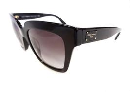 DOLCE & GABBANA Women's Sunglasses DG4286F 501/8G Black 140 MADE IN ITAL... - $175.50