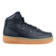 NIKE pour FEMMES Air Force 1 Hi Se Chaussures 12 Noir Gris 860544 002 - $64.87