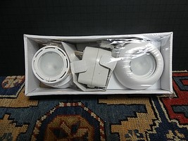 (2) IKEA White NON Light Under Cabinet Counter Lighting 17796 NEW IN PAC... - $35.26