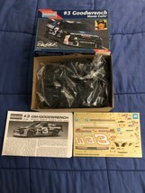 Monogram 1:24 Scale #3 Goodwrench Monte Carlo Dale Earnhardt Model Kit S... - $11.87
