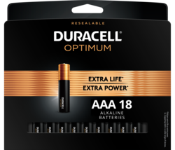 Optimum AAA Battery, Triple A Batteries with Resealable Package - $47.10