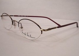Nicole Miller Anklet Ruhbarb Women eyeglasses Eyewear  Frames Designer - $49.49