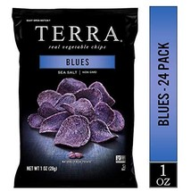 TERRA Blues Chips with Sea Salt, 1 oz. Pack of 24 - $50.95