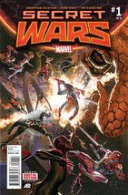 SECRET WARS #1 2015 MARVEL REG COVER  05/06/2015 - $4.29