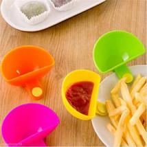LINSBAYWU Assorted Salad Ketchup Jam Dip Clip Cup Bowl - £7.53 GBP