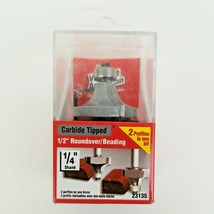 """Vermont American Carbide Tipped - ½"""" Roundover / Beading 23135 Router Bit New - $15.00"""
