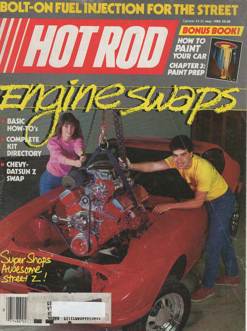 Primary image for Hot Rod  Magazine May 1985 Engine Swaps