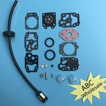 Carburetor Repair Kit Troy-Bilt TB26TB TB475SS TB490BC TB425CS Trimmer F... - $6.22