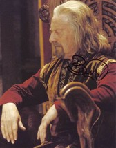 Bernard Hill AUTHENTIC Autographed Photo COA LOTR SHA #27810 - $60.00