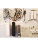 Nintendo Wii Video Game System 5 REMOTES Black White Consoles. - $125.99