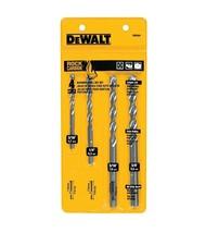 DEWALT DW5204 4-Piece Premium Percussion Masonry Drill Bit Set - $18.00
