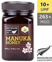 Zealand Honey Co. Raw Manuka Honey UMF 10+ | MGO 263+, 17.6oz / 500g - $48.45