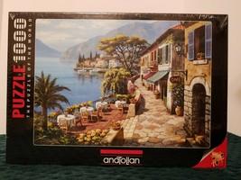 Anatolian Overlook Café 2 Sung KIM Jigsaw Puzzle 1000 Piece - $43.53