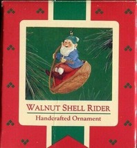 1986 - New in Box - Hallmark Christmas Keepsake Ornament - Walnut Shell ... - $3.46