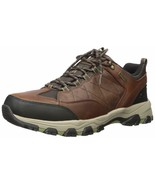 Skechers Men's SELMEN-HELSON Trail Oxford Hiking Shoe, Light Brown, 13 M... - $55.29