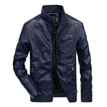 2019 Brand Men Motorcycle Leather Jackets 4XL 5XL Man Motobiker Cool Coa... - $66.17