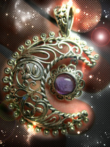 HAUNTED NECKLACE MASTER WITCH'S COMPLETE FREEDOM FROM ALL CHAINS OOAK MA... - $9,211.77