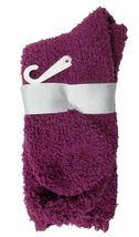 Charter Club Women's Super Soft Burgundy Lace Trim Socks Size 9-11 NEW w Tag Bow image 3