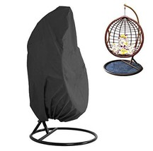 KIKIGOAL Outdoor Patio Hanging Chair Cover Wicker Egg Swing Chair Covers... - $28.45