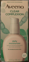 AVEENO Active Naturals Clear Complexion Daily Moisturizer 4 oz EXP 07/2022 - $15.79