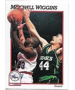 1991-92 Hoops #415 Mitchell Wiggins NM-MT 76ers - $0.99