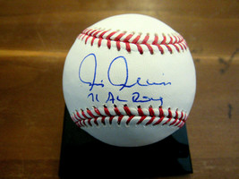 CHRIS CHAMBLISS 1971 AL ROY INDIANS WSC YANKEES SIGNED AUTO OML BASEBALL... - $89.09