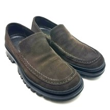 To Boot New York Men's Loafers Brown Suede Shoes Size 10 M Made In Italy  - $44.37